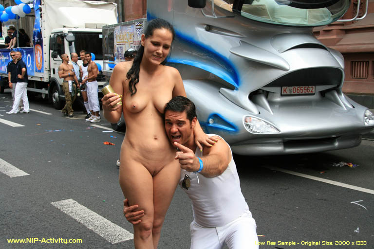 Nude Girls In Public Activity